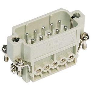 Harting 421 contactblok industriële connector 10 09200102612