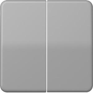 Jung Cd500 bedieningselement aan-/uit-schakelaar tweedelige wip crèmewit (elektrowit) cd595gr