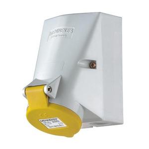 Mennekes WCD 16A 4P 4H 110V IP44 TWINCONTACT