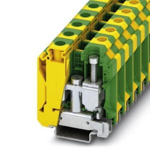 Phoenix Contact USLKG aardrijgklem 10-35mm Groen/geel 3074143