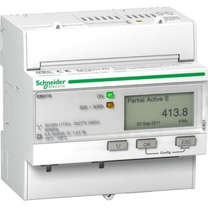 Schneider Electric Iem3110 3f kwh meter met puls mid 63a