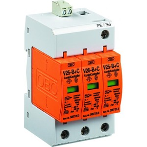 OBO Combicontroller v25 3-polig met optisch signaal 280v