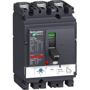 Schneider Electric NSX100N+TM80D 3P3D