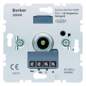 Berker Dali-draaipotentiometer met voedingseenheid