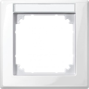 Merten M-SMART Afdekraam 1V Verticaal Wit IP20 470119