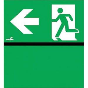 Eaton Blessing Bl iso perspex skopos (led) d & perspex-i pijl links+groen vlak