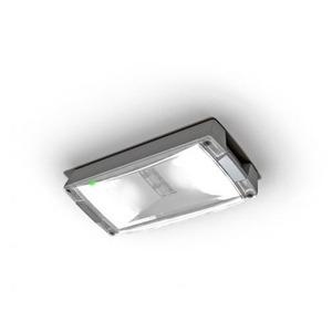 Eaton Blessing LED, opbouw, permanent/niet-permanent, vluchtwegverl., AT, kleur alu