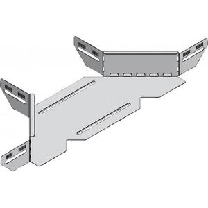 Stago KG281 aftakstuk kabelgoot 70x60mm RAL9006 Staal
