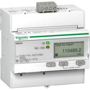 Schneider Electric Iem3155 3f kwh & pui meter