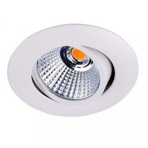Newlec LED SPOT WIT ROND 8,4W 2700K DRAAIBAAR, KANTELBAAR EN DIMBAAR