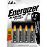 Energizer Batterij power AA (blister a 4 stuks)