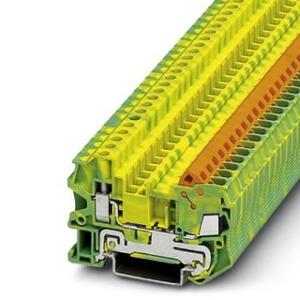 Phoenix Contact QTCU aardrijgklem 0-0mm Groen/geel 3206555