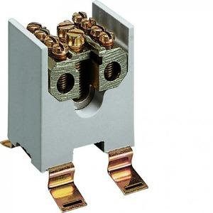 Hager K aansluitklem voor hoofdkabel 1p DIN-rail/schroef 4-aansluitingen K65
