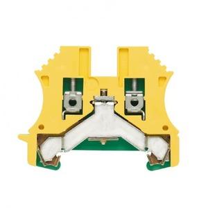 Weidmuller W-serie aardrijgklem 0,5-2,5mm groen/geel 1010000000