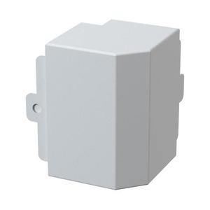 GGK LFG BUITENHOEKSTUK40X60 PVC CREMEWIT RAL9001