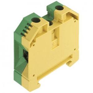Weidmuller W-serie aardrijgklem 2,5-35mm Groen/geel 1010500000