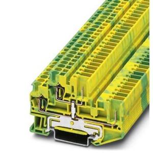 Phoenix Contact STTB aardrijgklem 0,14-2,5mm Groen/geel 3040067