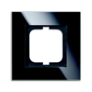 ABB Busch-Jaeger Carat Afdekraam 1V Zwart IP20 1754-0-4322