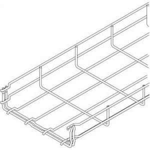 OBO GRM Draadgoot U-vorm 100x55x3000mm Staal 6001442