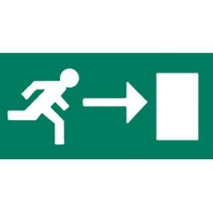 Van Lien pictogram Vluchtweg Rechts 12532011