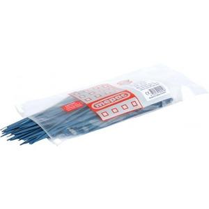 Mepac bundelband detecteerbaar 200x4,5mm blauw