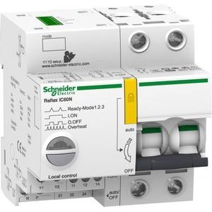 Schneider Electric Reflex ic60n ti24 25 a 2p b mcb+control