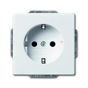 ABB Busch-Jaeger AXCENT, Carat, Future, Future linea wandcontactdoos RA 1V Wit 2011-0-3780