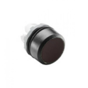 ABB Terugverende drukknop, zwart