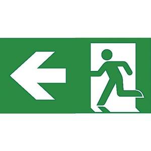 Van Lien Serenga pictogram Vluchtweg Links 12829153