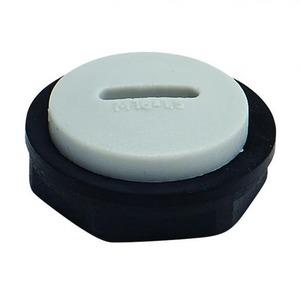 Bizline blindplaat wartel kabel-/buisinvoer 12Metrisch BIZ 207112
