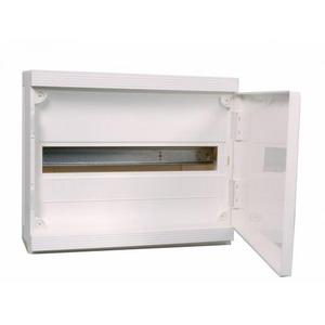 Hager Verdeler IP40 18 mod opbouw, deur wit