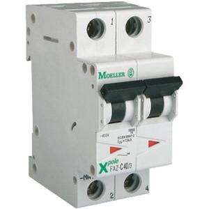 Eaton Installatieautomaat FAZ-C0,5/1N , C 0,5A , 2 Polig incl. NUL , 15 kA