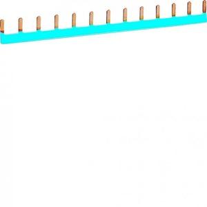 Hager Doorverbindingsrail blauw 13x1p 63 A