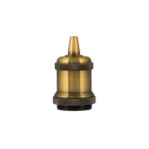 Bailey RETRO LAMPHOLDER ALU E27 COMPL. GOLD ANTIQUE
