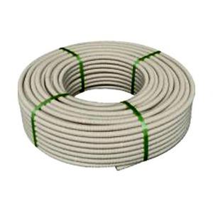"""Wavin PVC ELEKTRORIBBELBUIS CREME 3/4"""" L=100"""