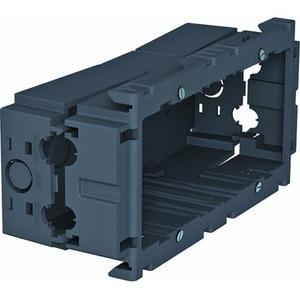 OBO Apparatuurinbouwdoos 2-voudig 160x76x51, PA, Grijs, RAL 7011