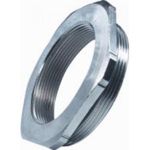 Pflitsch Reduceerring messing vernikkeld 6-kant m63x1,5-m50x1,5 met o-ring