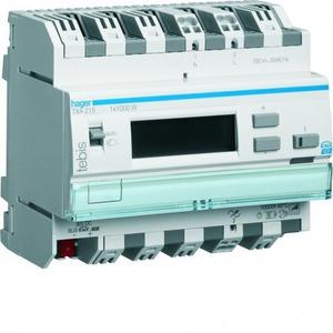 Hager Dimmer 1x1000W met display tebis KNX