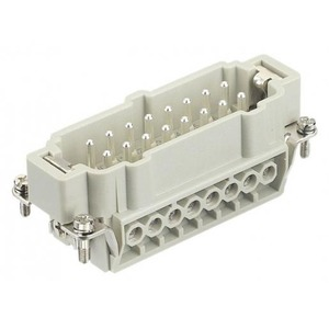 Harting 413 contactblok industriële connector 16 09330162601