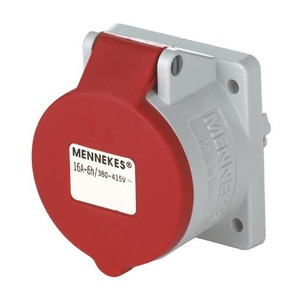 Mennekes INB.WCD 16A 3P 9H 400V IP44 TWINCONTACT