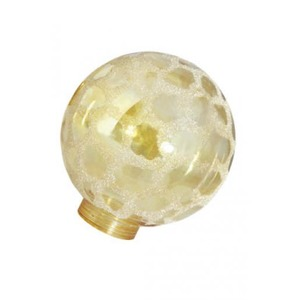 Bailey Glass Bulb G100 Gold Kroko Ice for LED Stick