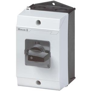 Eaton Aan-uit-schakelaar,+kast, 3p, Ie=12A, FS 0-1, 90°, 48x48mm