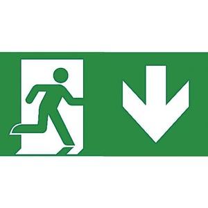 Van Lien Serenga pictogram Vluchtweg Rechtdoor/naar boven 32320058
