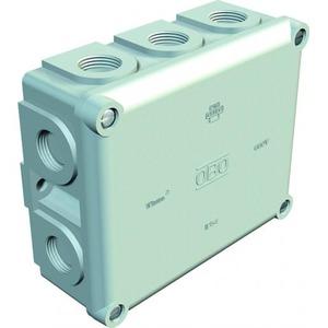 OBO Kabeldoos M20, 10mm2 660V,IP54 136x111x57, UF, lichtgrijs 7035
