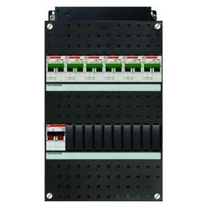 ABB 6x 16A/30mA+HS, 1-f Installatiekast