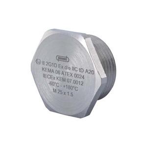 Hummel V-INOX-Ex-d blindplaat wartel kabel-/buisinvoer 12Metrisch 1896120050