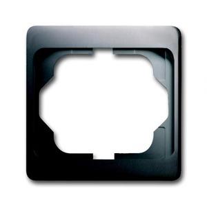 ABB Busch-Jaeger ALPHA exclusive Afdekraam 1V Platina IP20 1754-0-4373