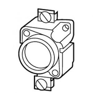Eaton Zekeringhouder, 25A, 500 V, DII/E27, passchroef