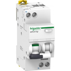 Schneider Electric Acti9 aardlekautomaat 2p 6A 0,03A C A9D32606