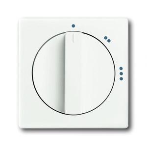 ABB Busch-Jaeger Future linear bedieningselement Standenschakelaar Draaigreep Wit 2CKA001710A3891